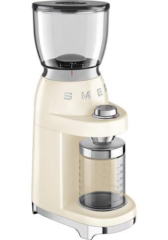 Smeg Kaffeemühle CGF01CREU, Kegelmahlwerk kaufen