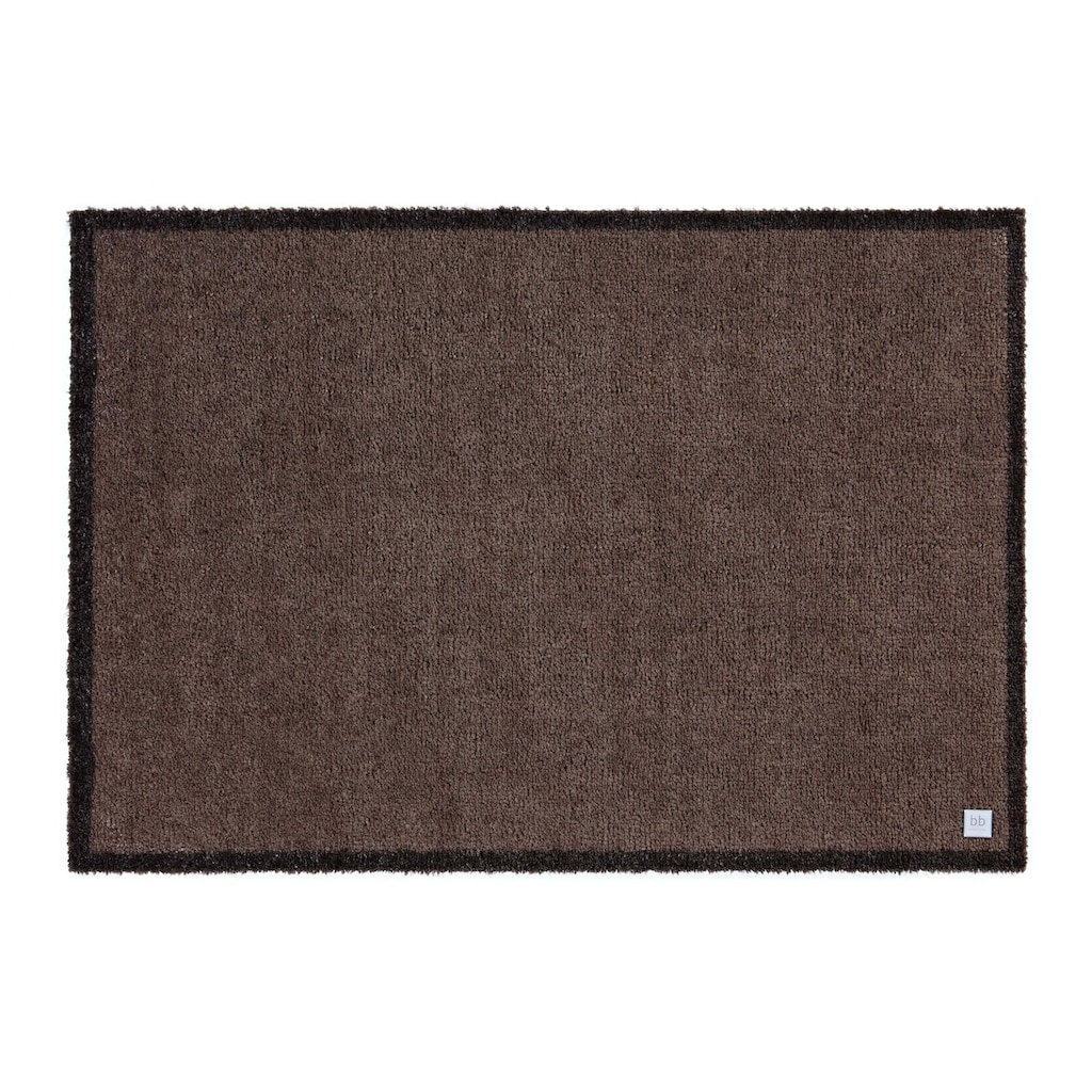 Barbara Becker Fußmatte »Touch«, rechteckig, 10 mm Höhe, Schmutzfangmatte, In- und Outdoor geeignet, waschbar