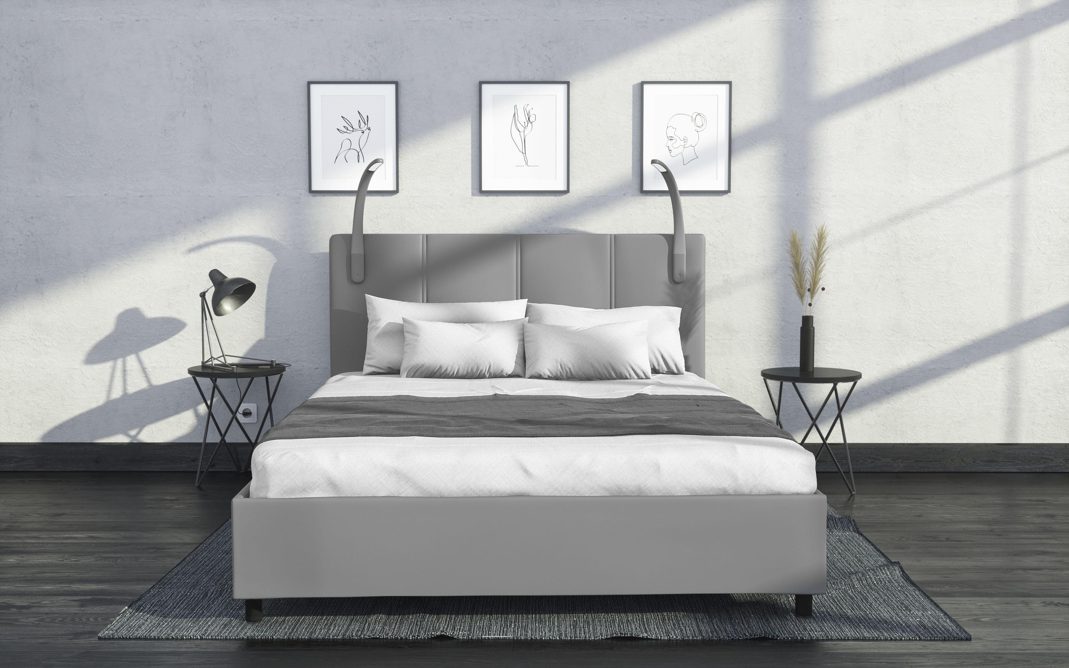 Westfalia Schlafkomfort Polsterbett, mit LED-Beleuchtung günstig online kaufen