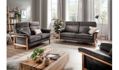 Home affaire Sofa »Passau«, 3-Sitzer. 2-Sitzer und Sessel im Set, wahlweise mit... kaufen
