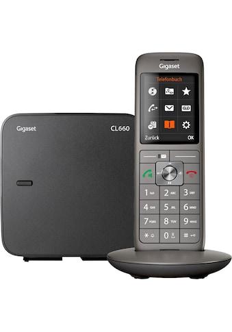 Gigaset Schnurloses DECT-Telefon »CL660«, (Mobilteile: 1 ) kaufen