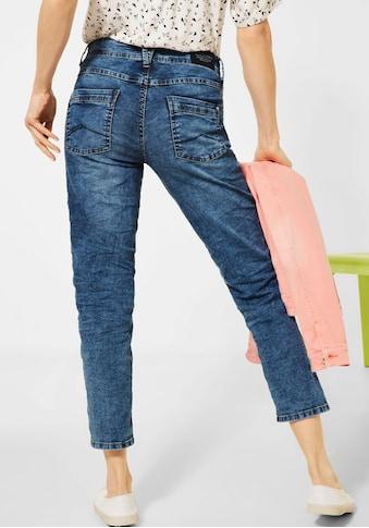 Cecil Ankle-Jeans »Scarlett«, mit Ziernähten kaufen