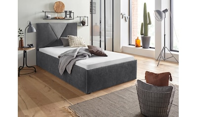 Westfalia Schlafkomfort Polsterbett »Malibu«, optional mit Bettkasten, Microfaserbezug kaufen