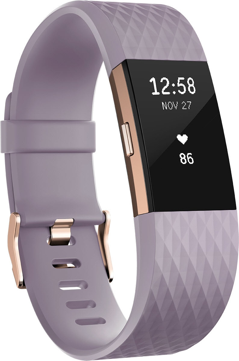 fitbit Activity Tracker »Charge 2 Large« | Schmuck > Armbänder > Fitness-Armbänder | Lila | Pc | FITBIT