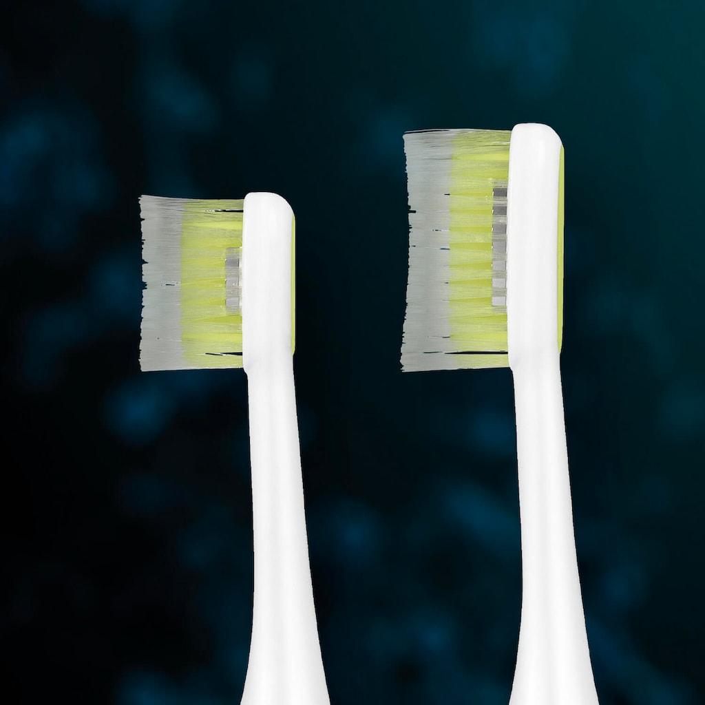 Silk'n Schallzahnbürste »Silk'n ToothWave«, 2 St. Aufsteckbürsten, wasserdicht (IP67 zertifiziert)