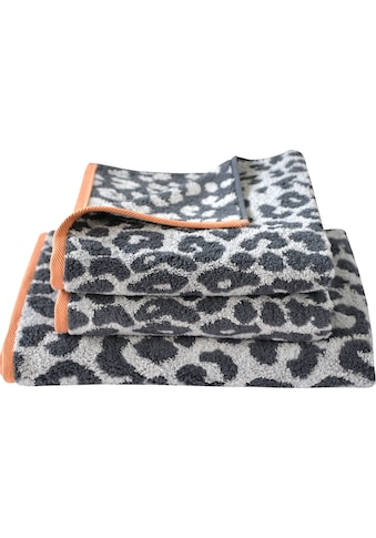Dyckhoff Handtuch Set »Leo«, mit Leoparden-Muster kaufen
