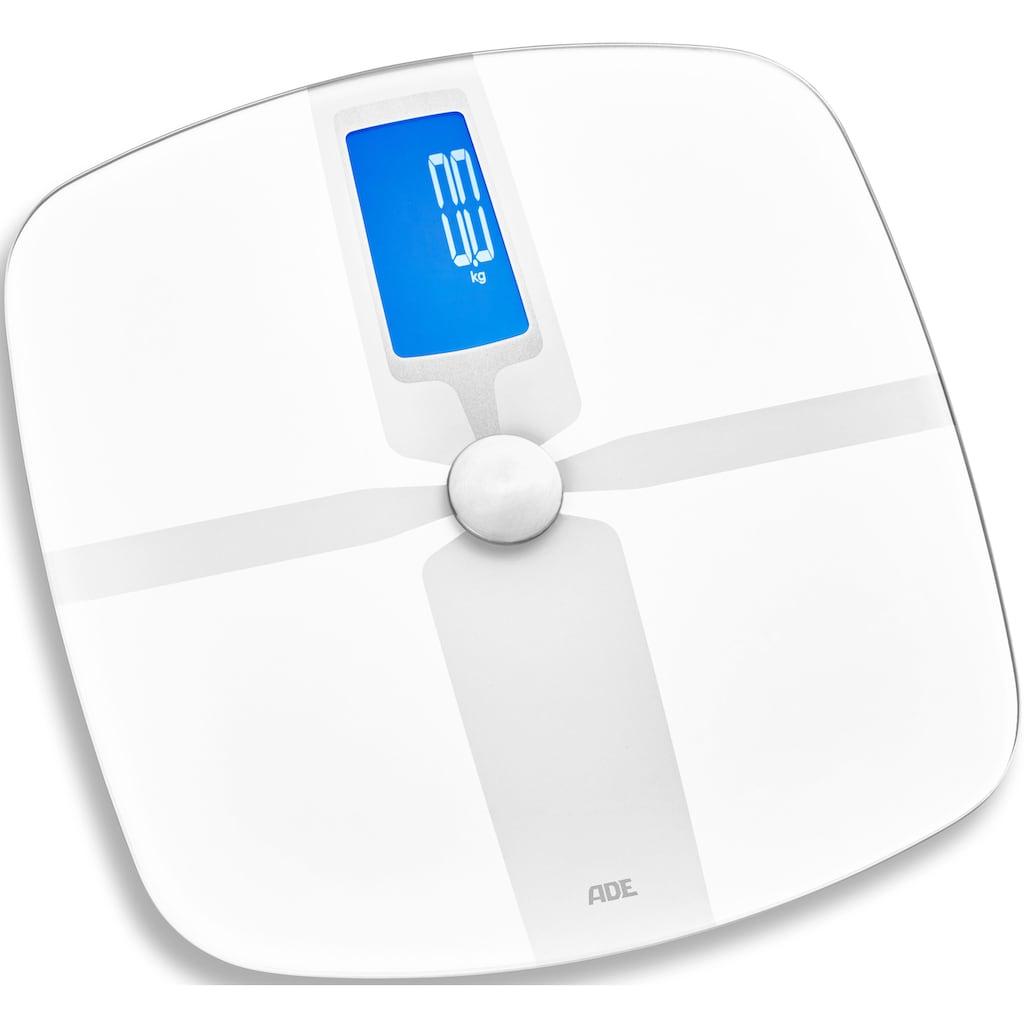 ADE Körper-Analyse-Waage »BA1800«, Bluetooth mit App