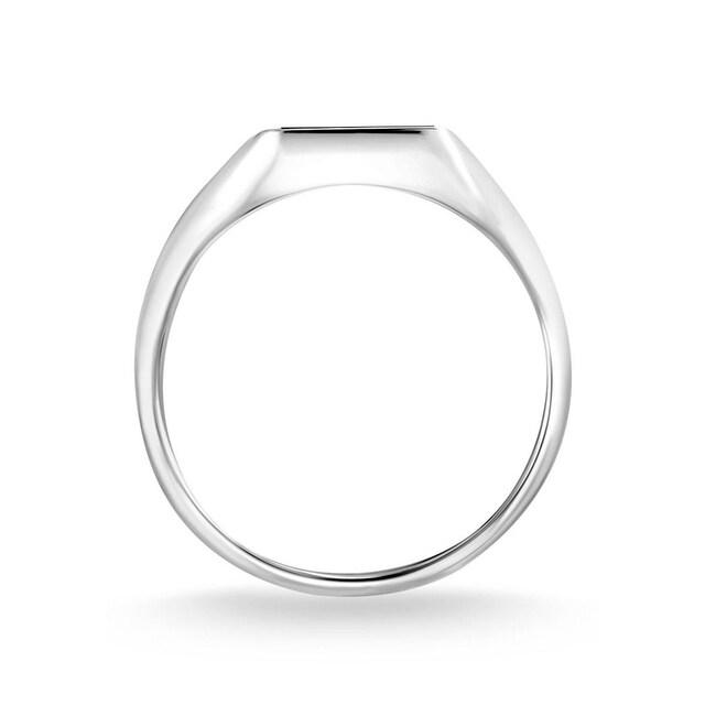 THOMAS SABO Silberring »Onxy, TR2220-024-11-48, 50, 52, 54, 56, 58, 60«