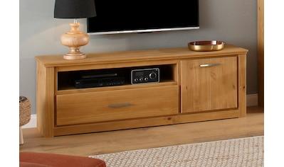 Home affaire Lowboard »Celia«, mit einer schönen Holzstruktur und edlen Metallgriffen kaufen