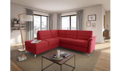 sit&more Ecksofa, wahlweise mit Bettfunktion und Stauraum kaufen