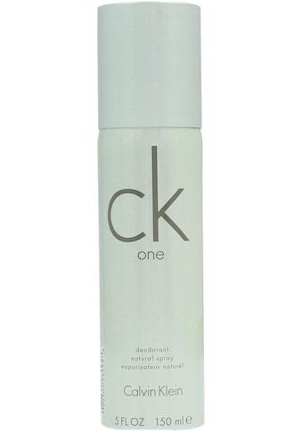 Calvin Klein Deo-Spray »Ck One« kaufen