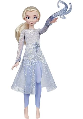Hasbro Anziehpuppe »Die Eiskönigin II, Elsas magische Enthüllung«, mit Licht & Sound kaufen