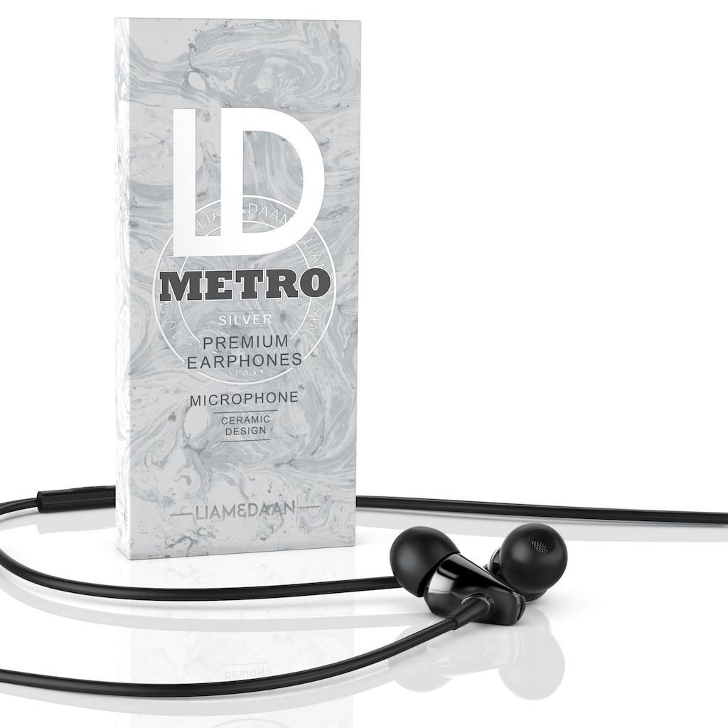 """LIAM&DAAN In-Ear Kopfhörer """"Metro"""" mit Mikrofon"""