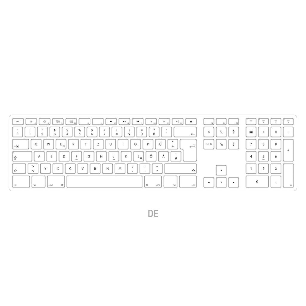 matias Tastatur dt. für Mac OS mit Multi-Connect Funktionalität »Aluminum Wireless«