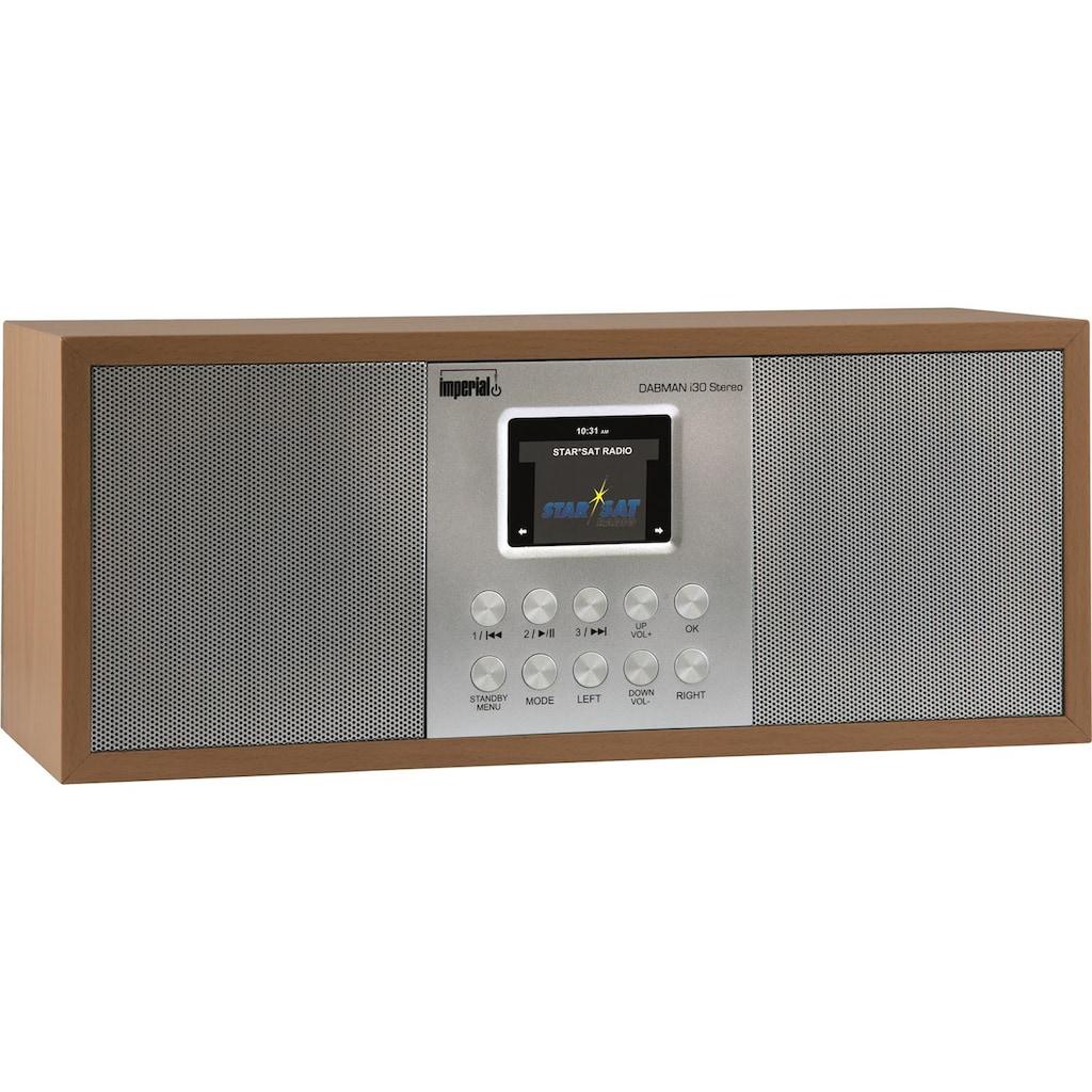 IMPERIAL by TELESTAR Digitalradio (DAB+) »DABMAN i30 Stereo«, (Digitalradio (DAB+)-FM-Tuner-Internetradio)
