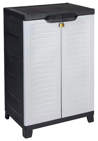 Kreher Mehrzweckschrank »Elite«, B/T/H: 65x45x97 cm, 2 Einlegeböden, Kunststoff kaufen