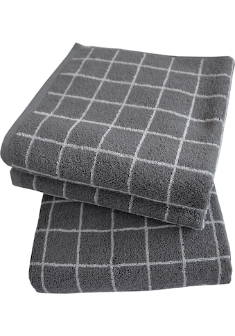 Dyckhoff Handtuch Set »Kachel 2«, mit eignewebten Kacheln kaufen