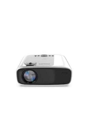 """Philips Stereosound, LED, WLAN, Bluetoth, bis zu 80"""" (300cm), HDMI, USB »NeoPix Easy+« kaufen"""