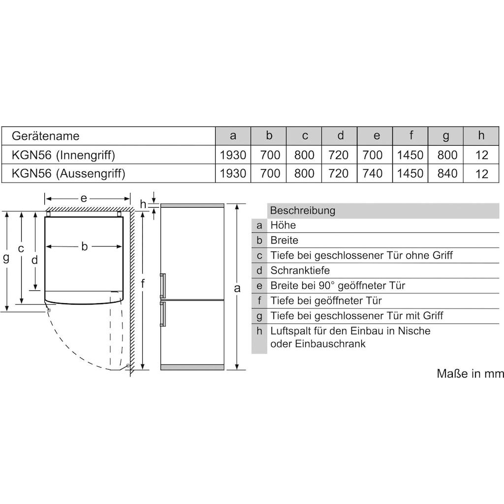 SIEMENS Kühl-/Gefrierkombination, iQ700