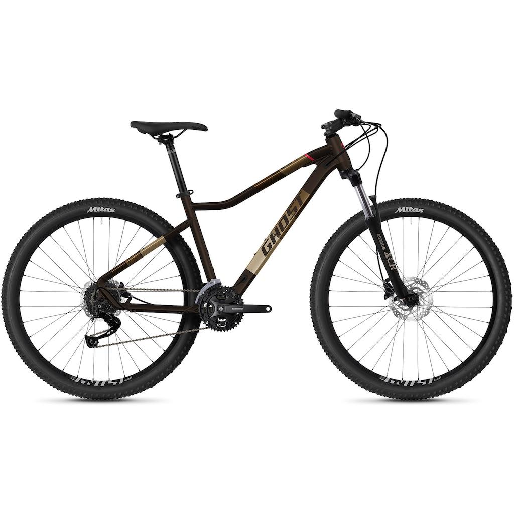 Ghost Mountainbike »Lanao Universal 27.5 AL W«, 27 Gang, Shimano, Alivio Schaltwerk, Kettenschaltung