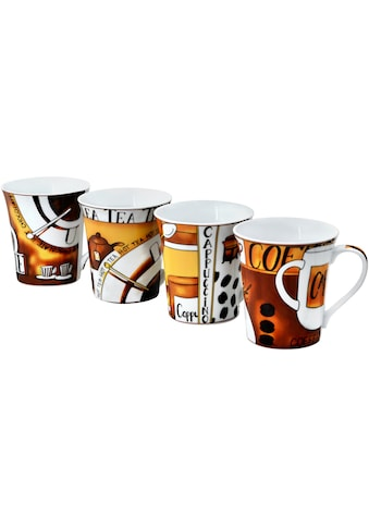 """Retsch Arzberg Becher """"Kaffee"""" (4 - tlg.) kaufen"""