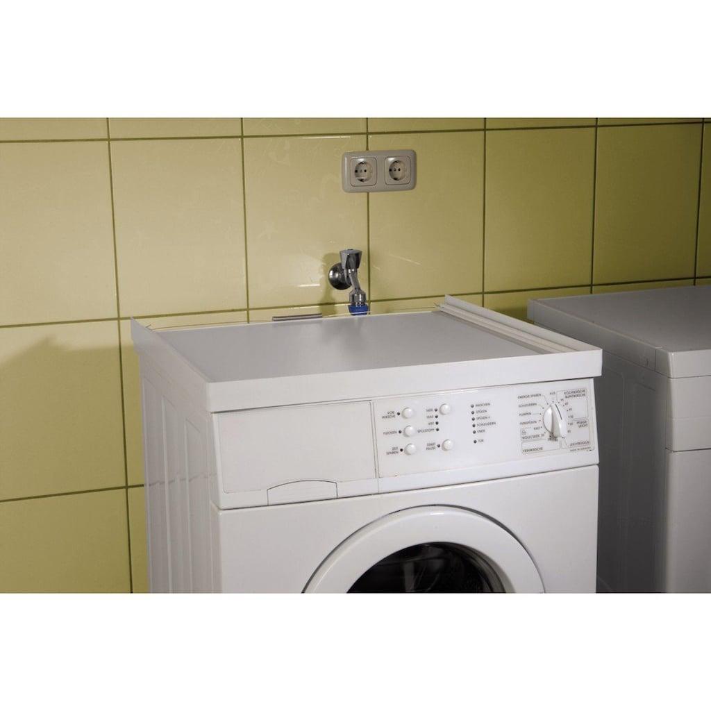 Xavax Zwischenbaurahmen für Waschmaschinen/Trockner, 60 x 60 cm