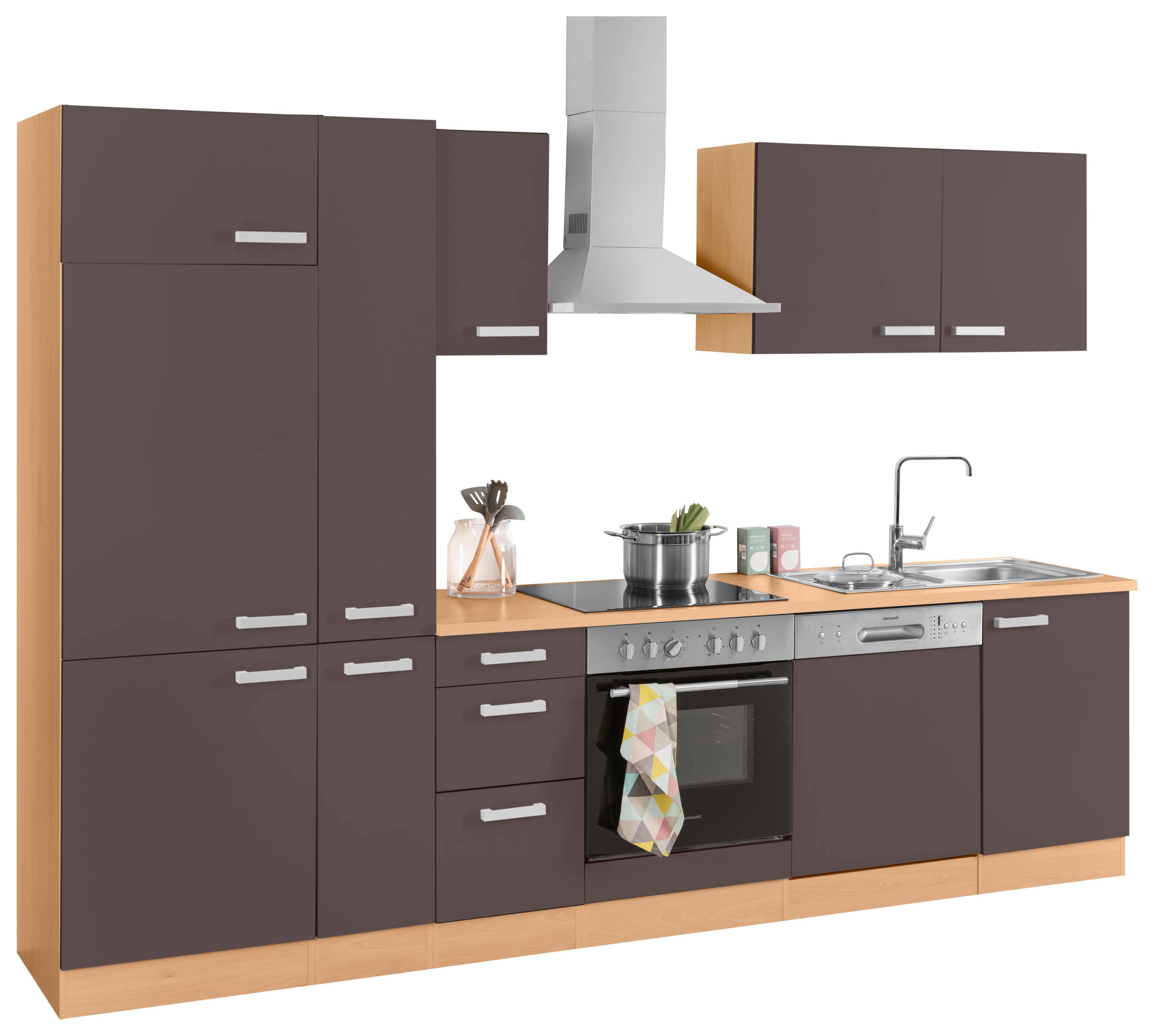 OPTIFIT Küchenzeile »Odense«, Breite 300 cm, inkl. Hanseatic-Elektrogeräten | Küche und Esszimmer > Küchen > Küchenzeilen | OPTIFIT
