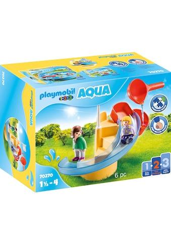 Playmobil® Konstruktions-Spielset »Wasserrutsche (70270), Playmobil 123 - Aqua«, (6... kaufen