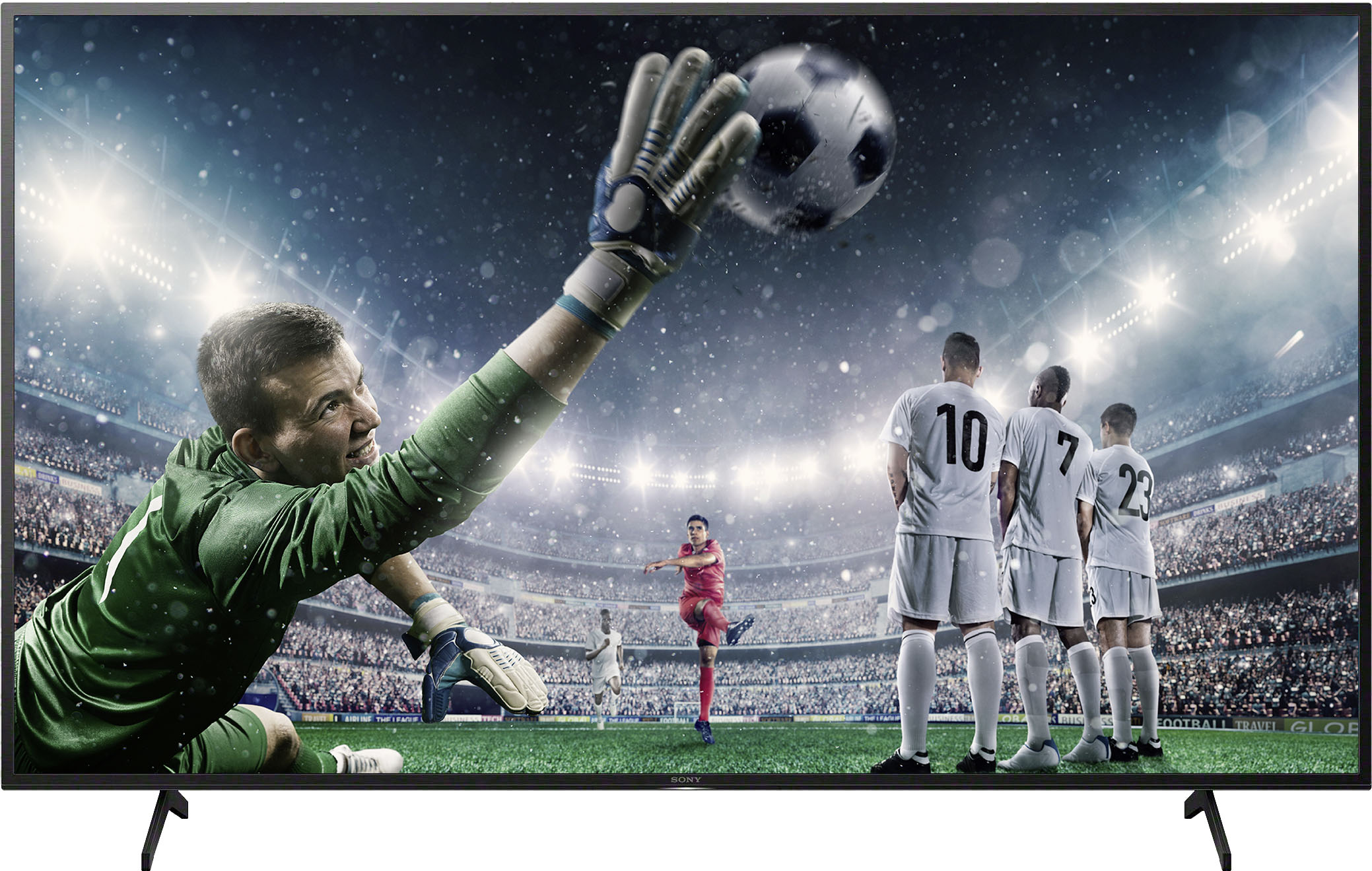 Sony LED-Fernseher KE-65XH8096 , 164 cm 65 , 4K Ultra HD, Android TV-Smart-TV