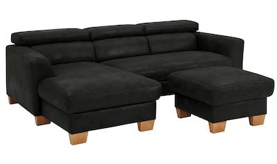 Home affaire Ecksofa »Steve Premium Luxus«, is 140kg pro Sitz belastbar, incl.... kaufen