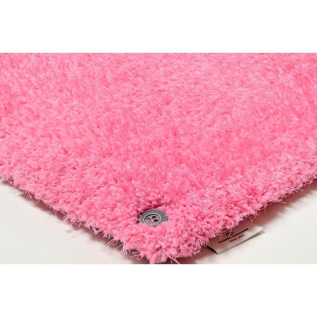 Hochflor-Teppich, »Soft«, TOM TAILOR, rechteckig, Höhe 35 mm, handgetuftet