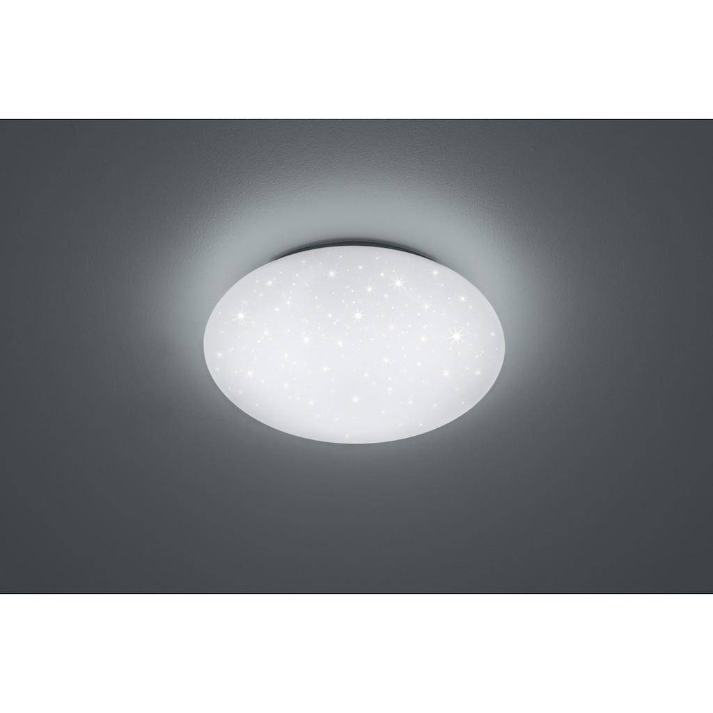 TRIO Leuchten LED Deckenleuchte »GLITTER PUTZ«, LED-Board, LED Deckenlampe