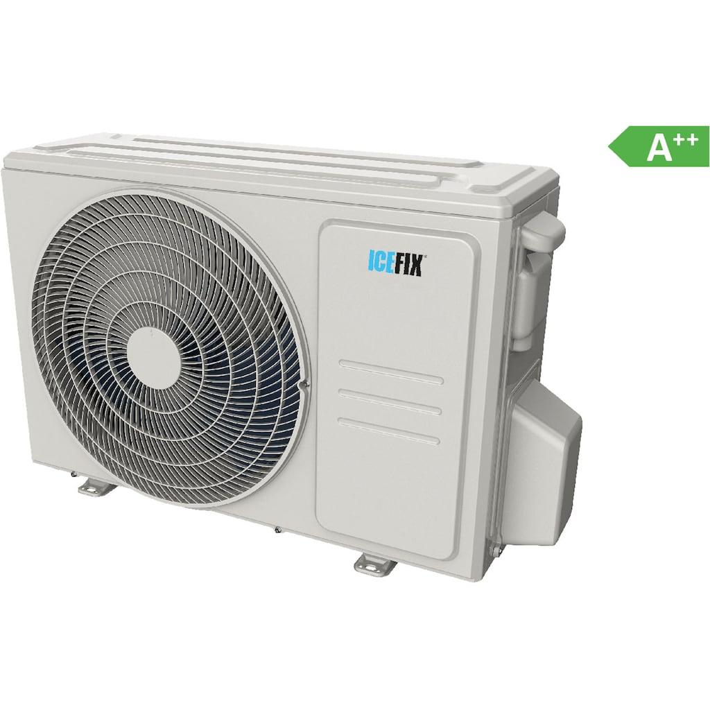 ICEFIX Split-Klimagerät »1600 IU / 1600 OU«, bestehend aus Innen- und Außeneinheit Icefix 1600 IU/ Icefix 1600 OU, inkl. Montage