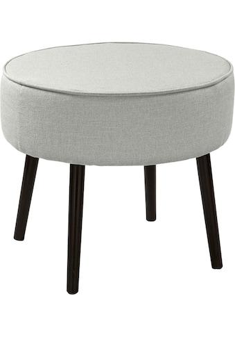 Fink Polsterhocker »ELLIS«, mit runder Sitzfläche kaufen