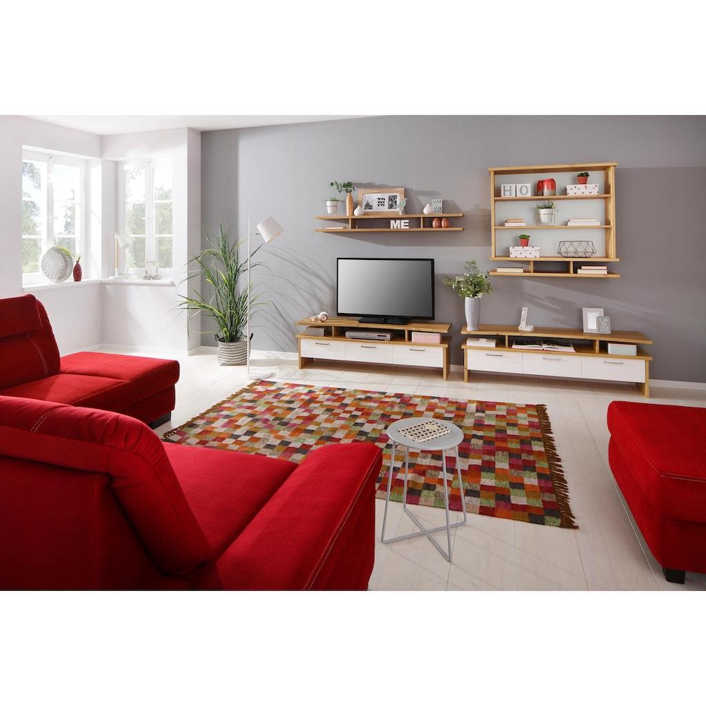 Home affaire Wohnwand »Ixo«, (Set, 4 St.), aus massiver Kiefer