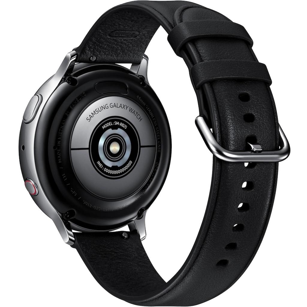 Samsung Smartwatch »Galaxy Watch Active2 Edelstahl, 44 mm, LTE & Bluetooth (SM-R825)«