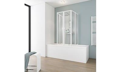 SCHULTE Badewannenfaltwand 2 x 3 - tlg., gerahmt, BxH: je 104 x 140 cm kaufen
