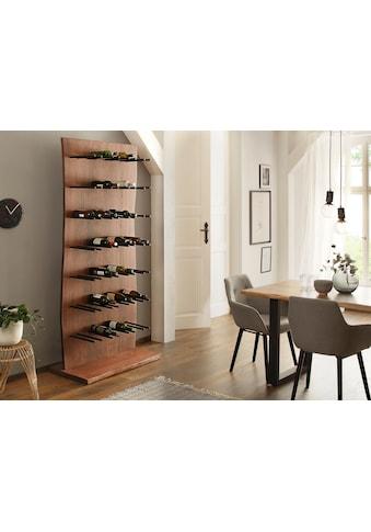 Home affaire Weinregal »Holm«, aus massivem Akazienholz, Höhe 203 cm kaufen
