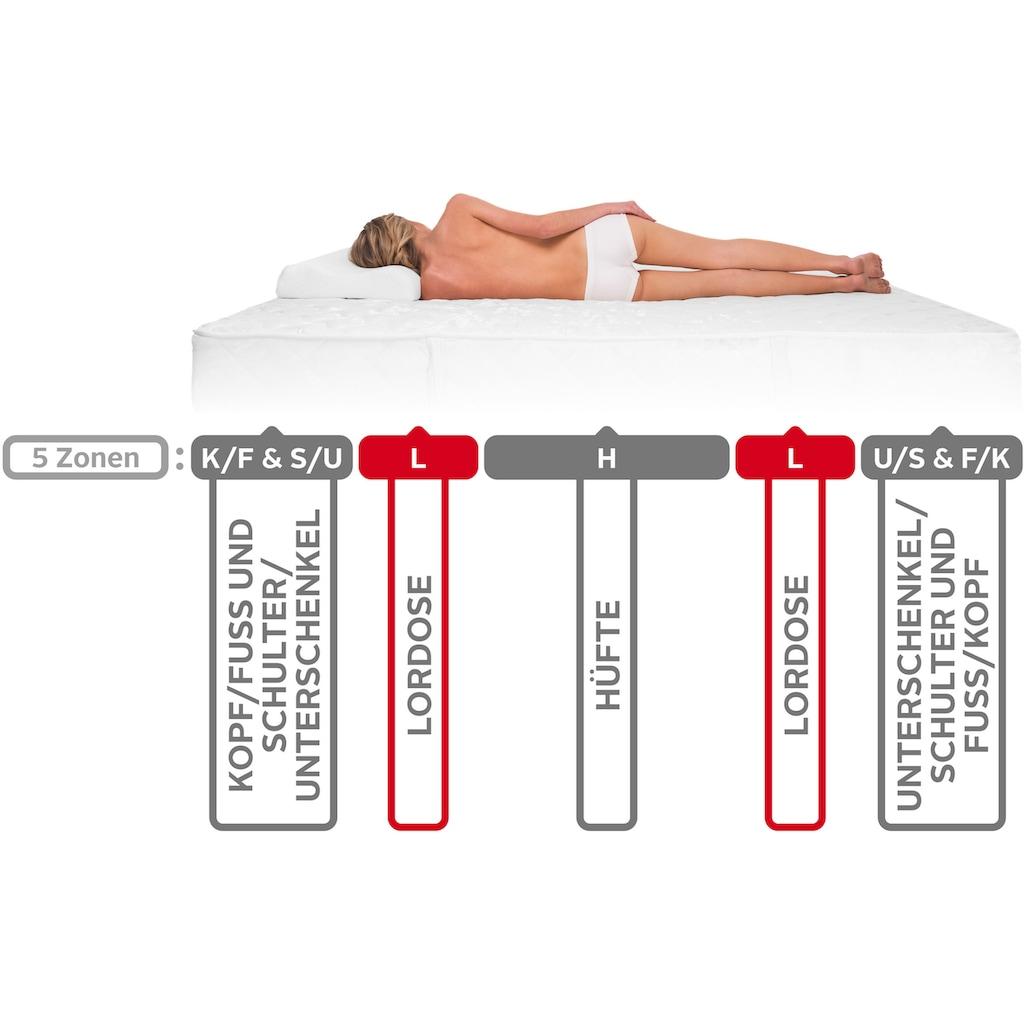 DI QUATTRO Komfortschaummatratze »Airy Form Luxus«, 29 cm cm hoch, (1 St.), Die Matratze, die atmet. Extra hoch und komfortabel, Schnäppchenpreis