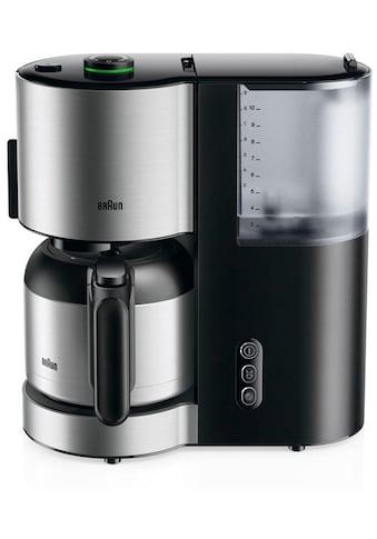 Braun Filterkaffeemaschine »ID Collection Kaffeemaschine KF 5105 BK schwarz« kaufen