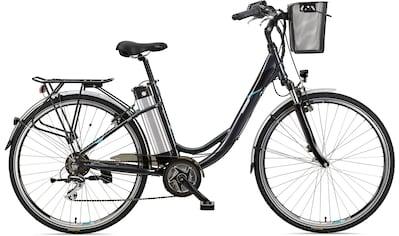 Telefunken E-Bike »Multitalent RC860«, 7 Gang, Shimano, Acera, Mittelmotor 250 W, mit Fahrradkorb kaufen