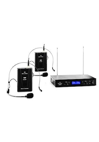 Malone 2-Kanal VHF-Funkmikrofon-Set 1x Empfänger + »VHF-400 DUO 2« kaufen