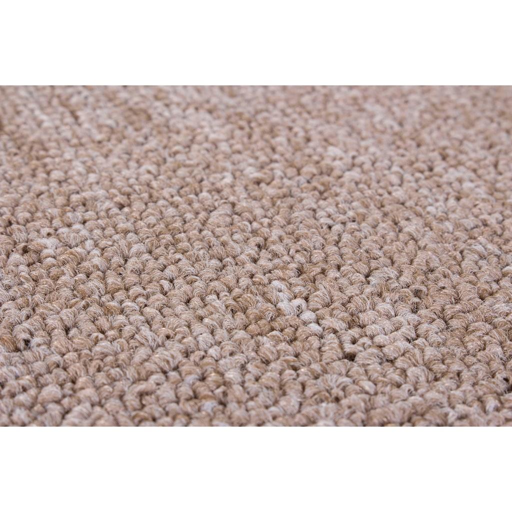 LUXOR living Teppich »Luton«, rechteckig, 5 mm Höhe, melierte Optik, Wohnzimmer