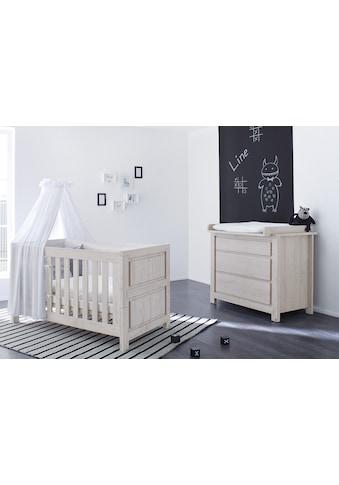Pinolino® Babymöbel-Set »Line«, (Spar-Set, 2 tlg.), breit kaufen
