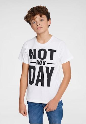 Arizona T - Shirt »Not my day« kaufen