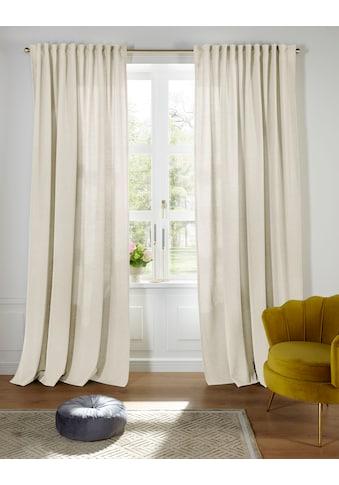 Guido Maria Kretschmer Home&Living Vorhang nach Maß »MIRKO«, blickdicht, nachhaltig,... kaufen