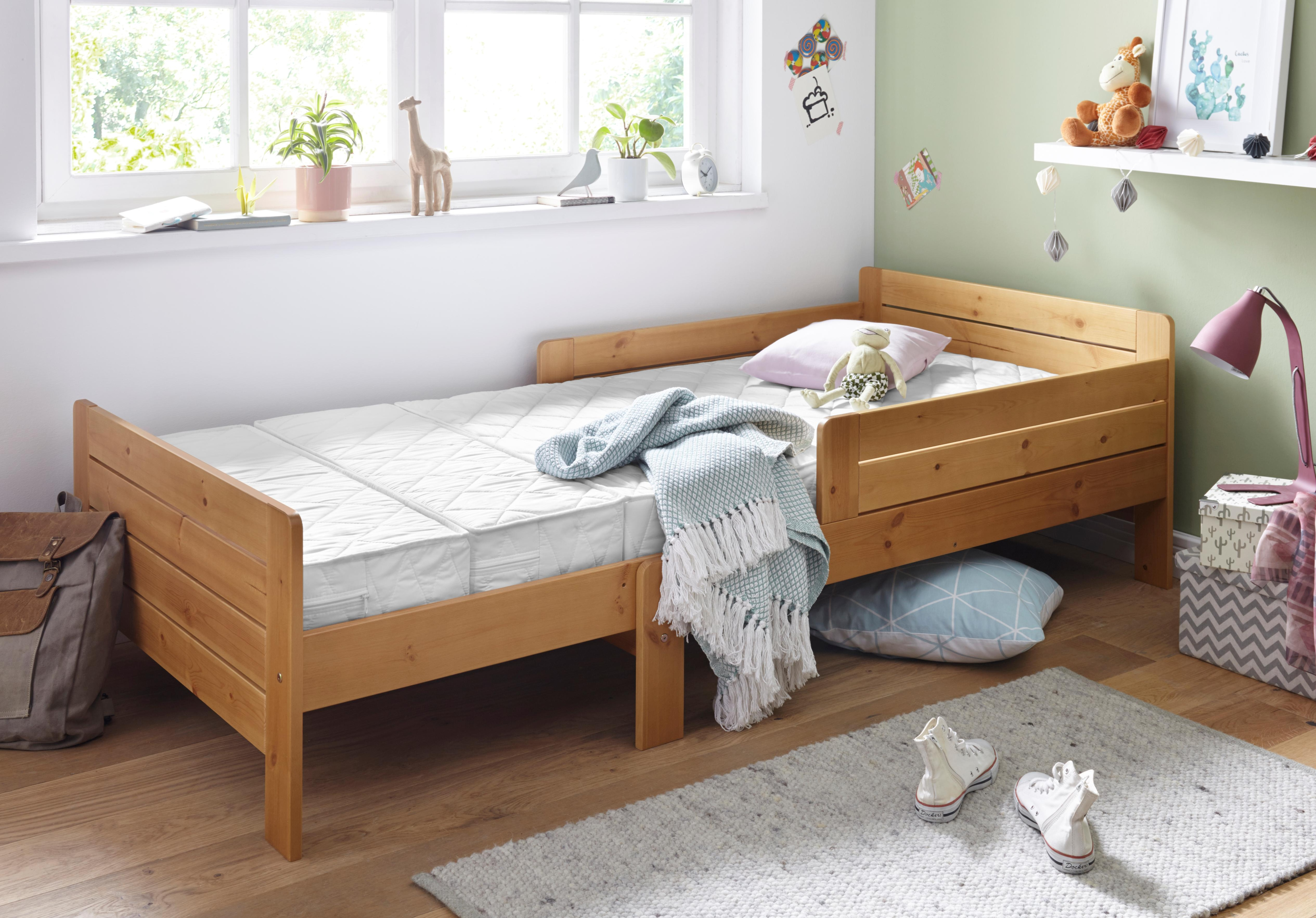 Breckle Kindermatratze zum Mitwachsen (3-tlg)   Kinderzimmer > Textilien für Kinder > Kinderbettwäsche   Weiß   Breckle
