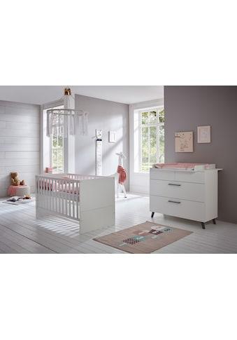 arthur berndt Babymöbel-Set »Amal«, (Spar-Set, 2 St.), mit Kinderbett und... kaufen