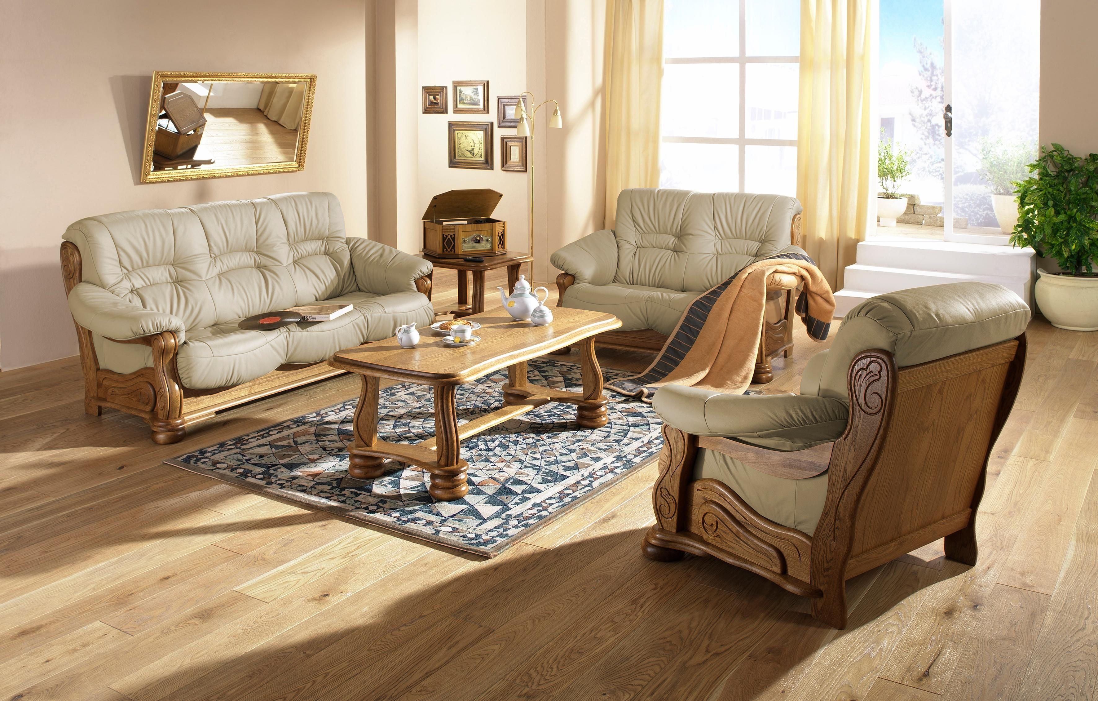 Max Winzer 2 Sitzer Sofa Texas mit dekorativem