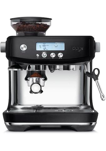 Sage Espressomaschine »»The Barista Pro, SES878BTR4EEU1««, Mattschwarz kaufen
